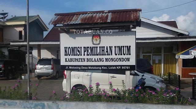 KPU Bolmong Baru Terima Dua Parpol Ambil Formulir