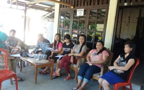 Kegiatan Coklit PPDP di Kecamatan Lolak