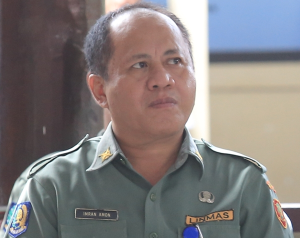 Kepala BPBD Kotamobagu Imran Amon