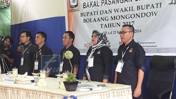KPU Bolmong Susun Standar Pemeriksaan Kesehatan Bagi Pasangan Bakal Calon