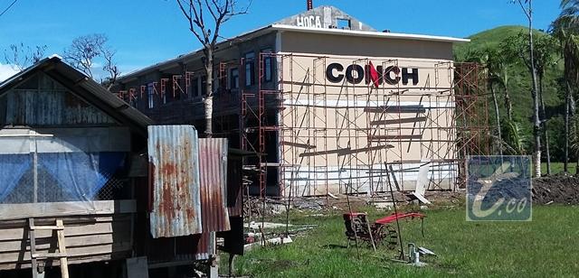 PT Conch yang berada di Desa Solok