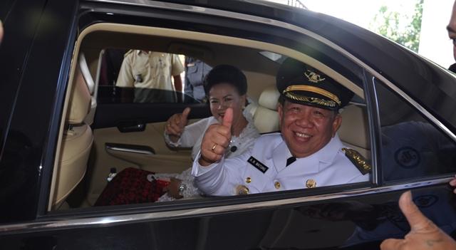 Penjabat Bupati Bolmong Adrianus Nixoin Watung
