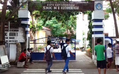 Salah satu sekolah di Kotamobagu