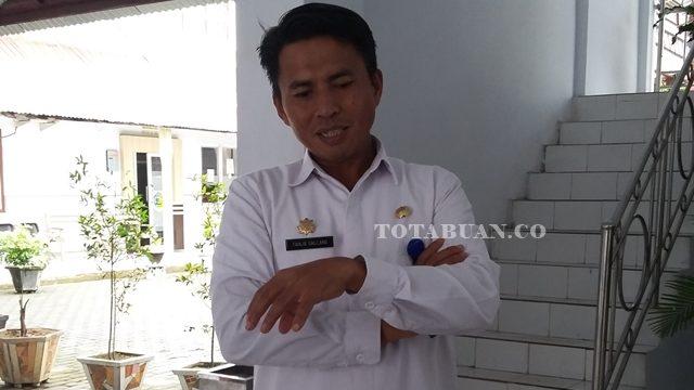 Sekretaris Kota Kotamobagu Tahlis Gallang
