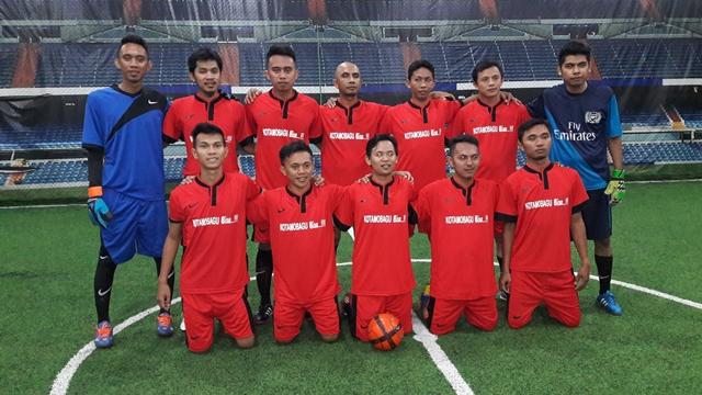 Tim Kawan KotaTarget Menangdi Futsal Turnamen Sulut