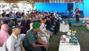 Suasana acara peresmian yang dihadiri para pimpinan SKPD tokoh masyarakat