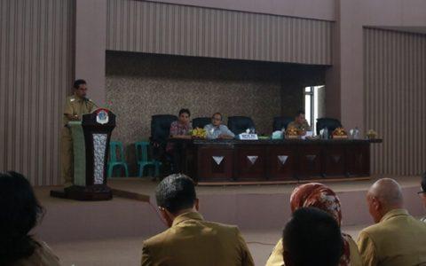 Pimpinan SKPD Diminta Proaktif Saat Pemeriksaan BPK