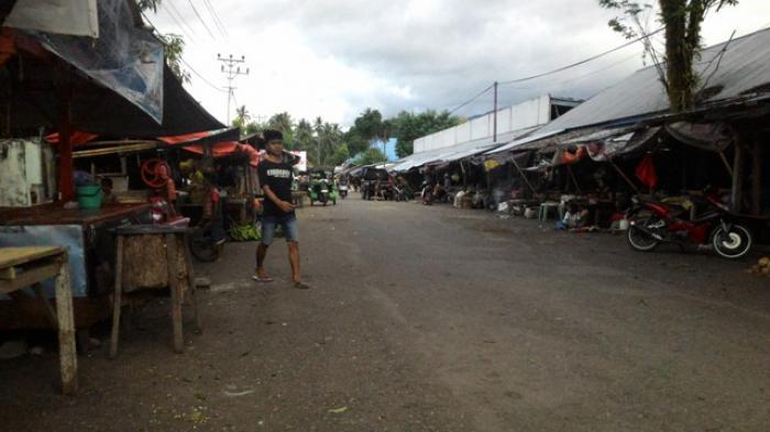 Pasar Lolak Masuk Kawasan Pertokoan Modern