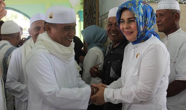 Wali Kota Kotamobagu Sambut 109 Jamaah Haji