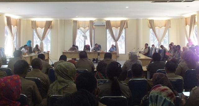 Pemkab dan DPRD Bolmong Tunggu Persetujuan Ranperda OPD Baru