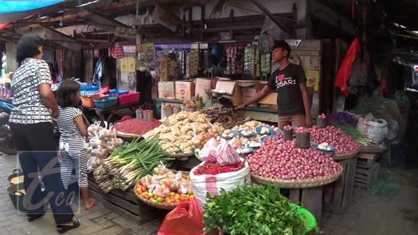 Harga Bumbu Dapur di Pasar Tradisional Kotamobagu Naik