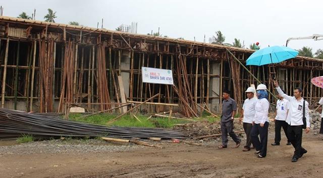 Wali Kota Pantau Proyek Pembangunan Tower RSUD