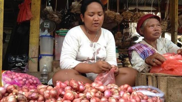 Jelang Natal Harga Bawang Merah di Kotamobagu Capai 50 Ribu Perkilo