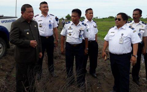 Kemenhub Kucur 6 M Untuk Pagar Batas Lahan Bandara Lolak