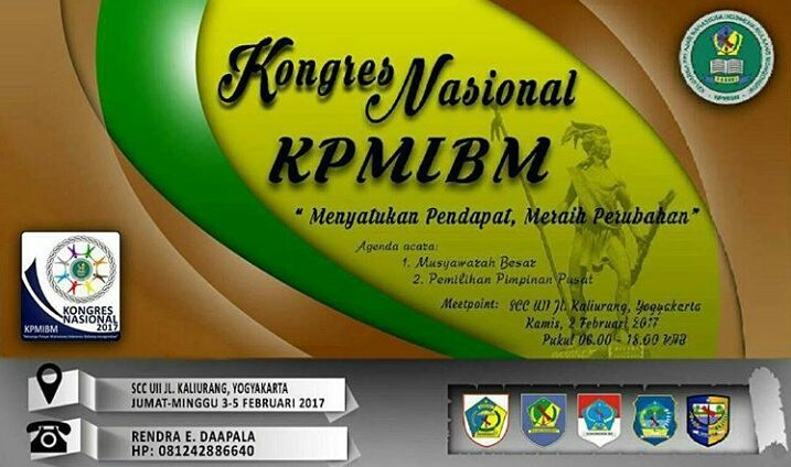 Kongres Nasional KPMIBM Digelar Awal Februari
