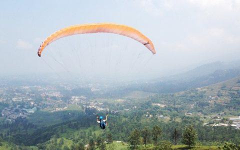 Wisata Boltim Cocok Jadi Tempat Olahraga Paragliding