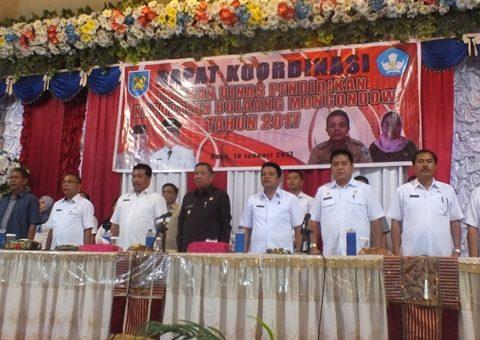 Kualitas Pendidikan di Bolmong Terus Dievaluasi