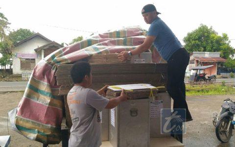 Distribusi Logistik Pilkada Bolmong Tersalur