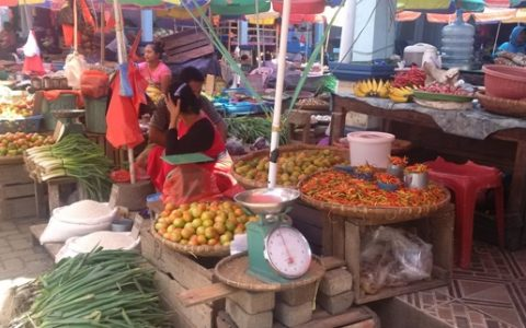 Harga Cabai di Pasar Tradisional Kotamobagu Capai 100 Ribu Perkilo