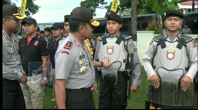 Kapolda Sulut Pimpinan Apel Pengamanan Pilkada Bolmong