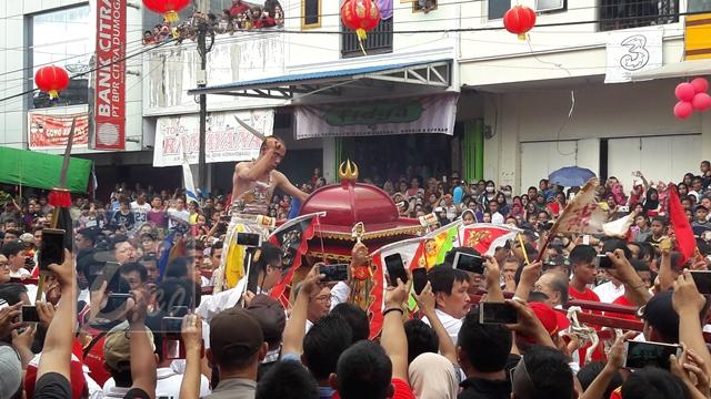 Perayaan Cap Go Meh di Kotamobagu Meriah