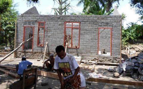 Salah satu contoh proyek bantuan RTLH