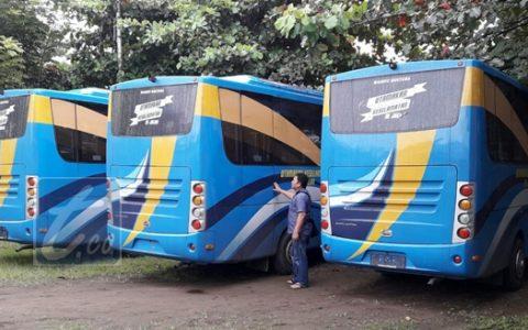 Awal Mei, Lima Unit Bus BRT Beroperasi di Kotamobagu