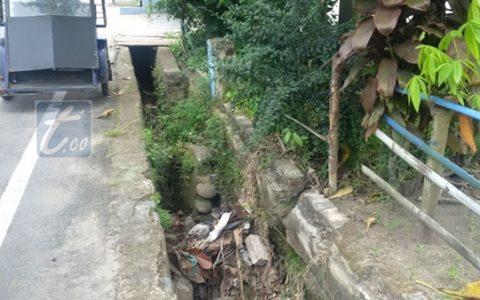 Drainase di Motoboi Kecil Tak Berfungsi