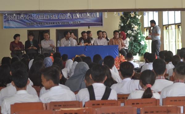 SMK Yadika Kopandakan Terjunkan 99 Siswa Untuk Prakerin