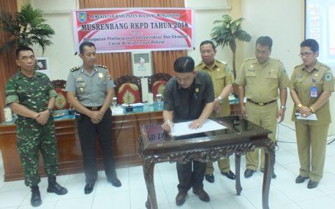 Pemkab Bolmong Gelar Musrenbang RKPD Tahun 2018