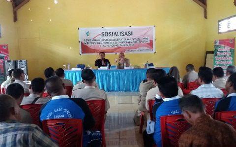 Pemkot Kotamobagu Sosialisasi PMKS dan PSKS