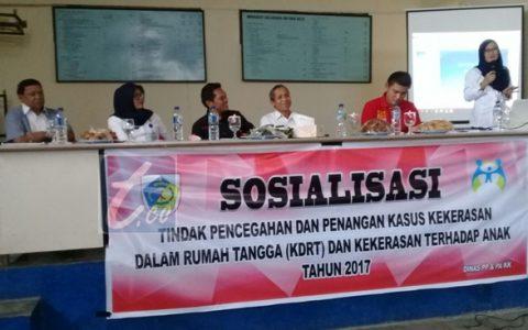 DP3A Kotamobagu Sosialisasi Pencegahan dan Penanganan Kasus KDRT