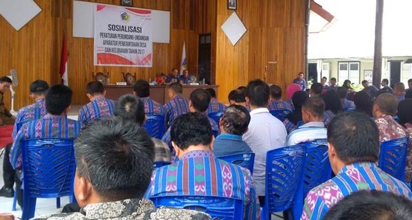 Pemkot Tingkatkan Kompetensi Aparatur Pemerintah Desa