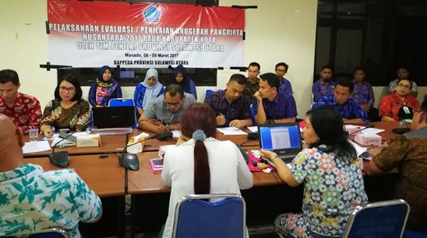 Pemkot Kotamobagu Hadapi Penilaian Penganugerahan Pangripta Nusantara