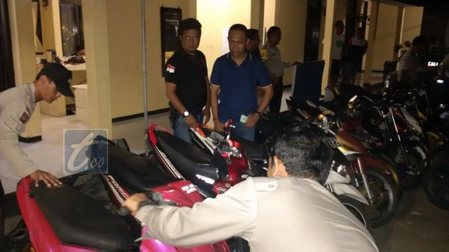 Belasan Kendaraan Roda Dua Terjaring Operasi Cipkon