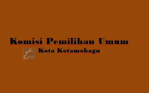 KPU Kotamobagu Segera Ajukan Permintan Dana Lima Miliar ke Pemkot