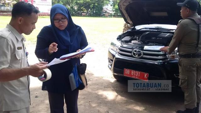 BPK Periksa Kendaraan Dinas Milik Pemkot Kotamobagu