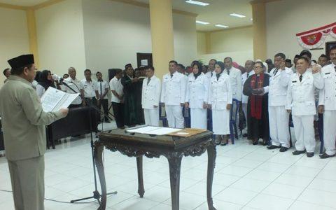 Penjabat Bupati Bolmong Lantik 17 Kades