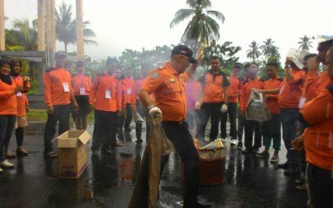 140 Relawan BPBD Kotamobagu Diberi Pelatihan dari Basarnas
