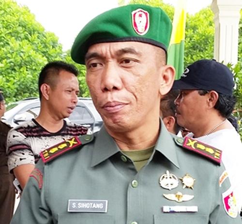 Dandim 1303 Bolmong Bantah Terima Intruksi Panglima