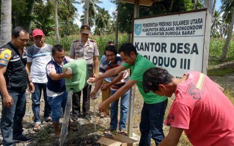 Pemerintah Desa dan Lembaga Adat Doloduo Berhasil Aman Miras