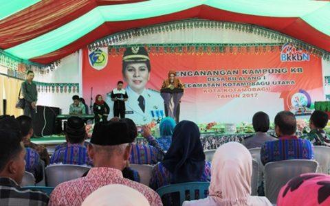 Walikota Kotamobagu Ajak Warga Sukseskan Program Kependudukan dan KB