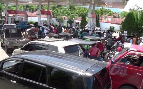 Kelangkaan BBM di Kotamoagu Resahkan Warga