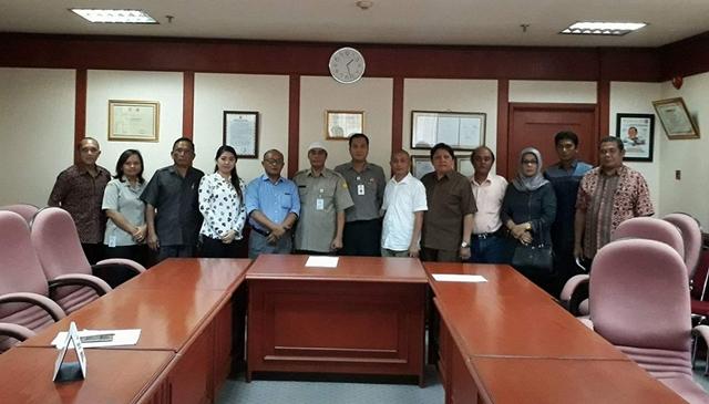 Gabungan Komisi DPRD Bolmong Kunker Program Bantuan di Kementrian