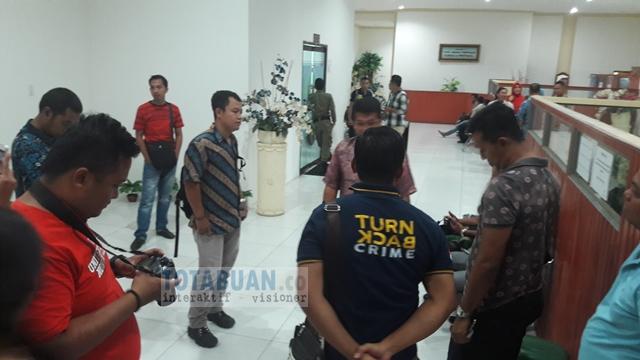 Tim Tipidkor Polres Bolmong Bertemu Bupati Koordinasi Kasus PDAM