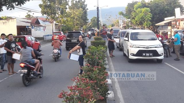 Komunitas Wartawan Jarod Galang Dana Korban Kebakaran Gogagoman