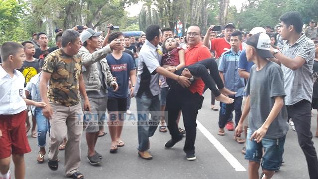 Gawat !! Korban Insiden Road Race Walikota Cup Kondisinya Kritis