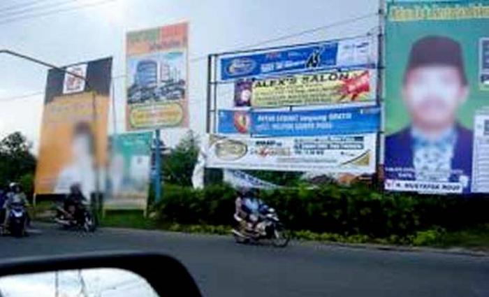 Baliho Kandidat Akan Dikenakan Pajak