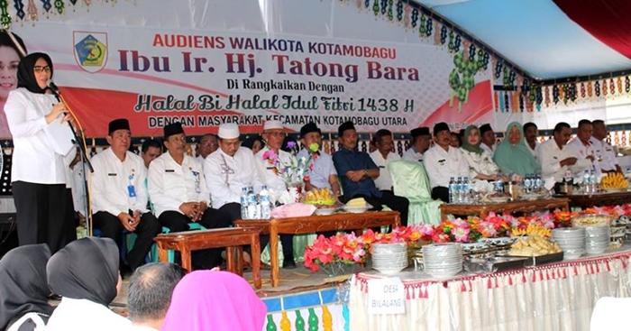 Walikota Tatong Bara Hadiri Perayaan Halal Bi Halal
