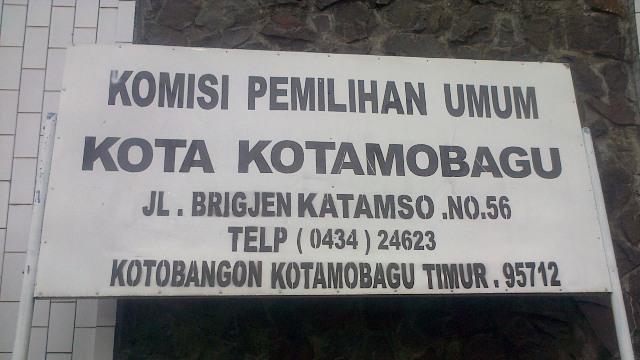 KPU Kotamobagu: Penyerahan Berkas Calon Perseorangan Dibuka November
